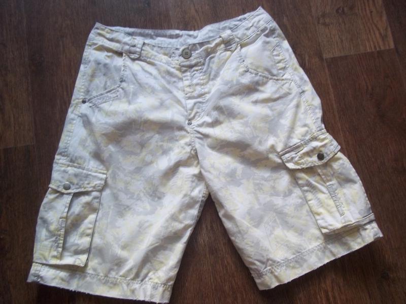 Мужские шорты бриджи карго 32 евро размер