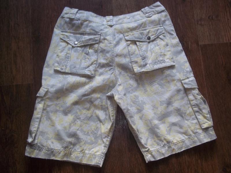 Мужские шорты бриджи карго 32 евро размер - Фото 2