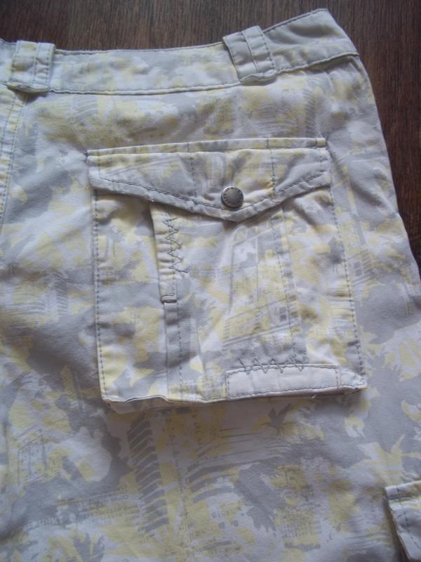 Мужские шорты бриджи карго 32 евро размер - Фото 4
