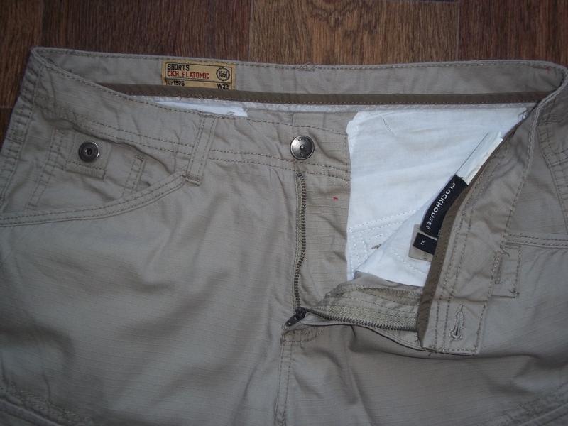 Легкие летние шорты бриджи карго clockhouse - Фото 3