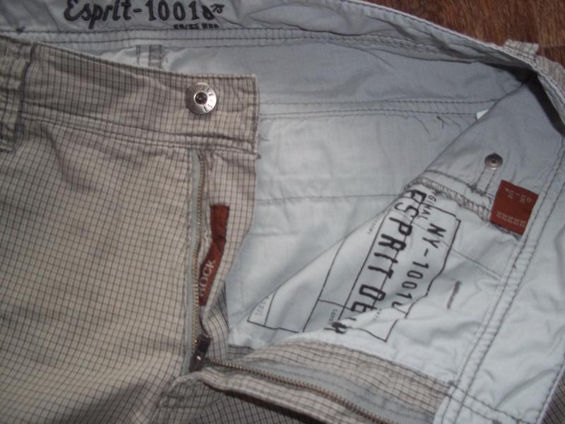 Мужские шорты карго бриджи esprit - Фото 4
