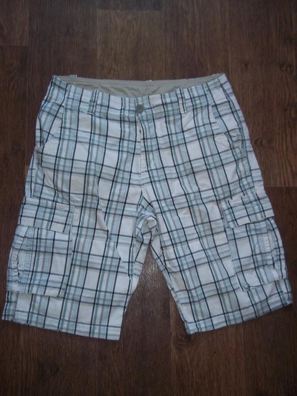 Мужские шорты бриджи карго clockhouse 33