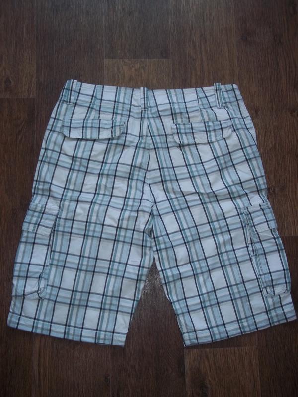 Мужские шорты бриджи карго clockhouse 33 - Фото 2