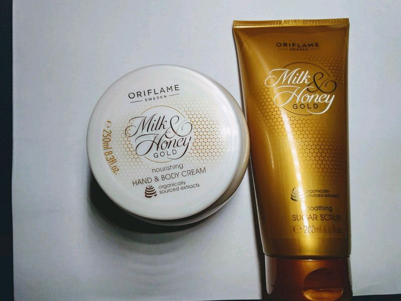 Скарб для тела и крем для рук «Молоко и мед – Золотая серия»