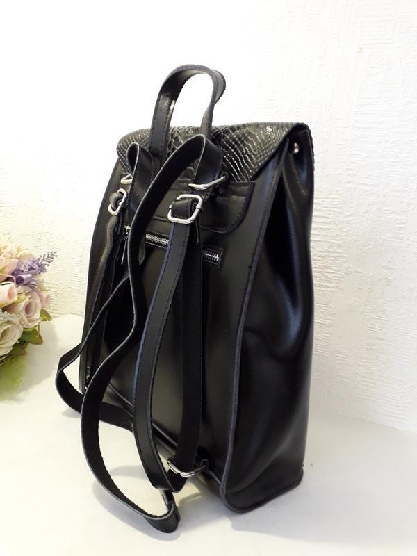 Рюкзак женский кожаный. galanty - Фото 5