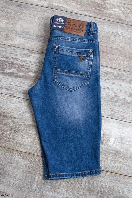 Мужские джинсовые шорты - Фото 3