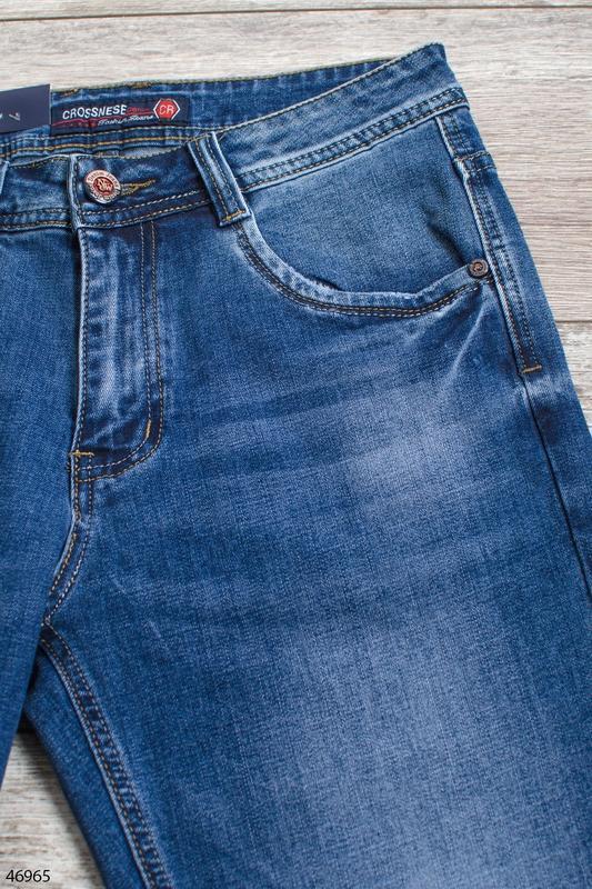 Мужские джинсовые шорты - Фото 4