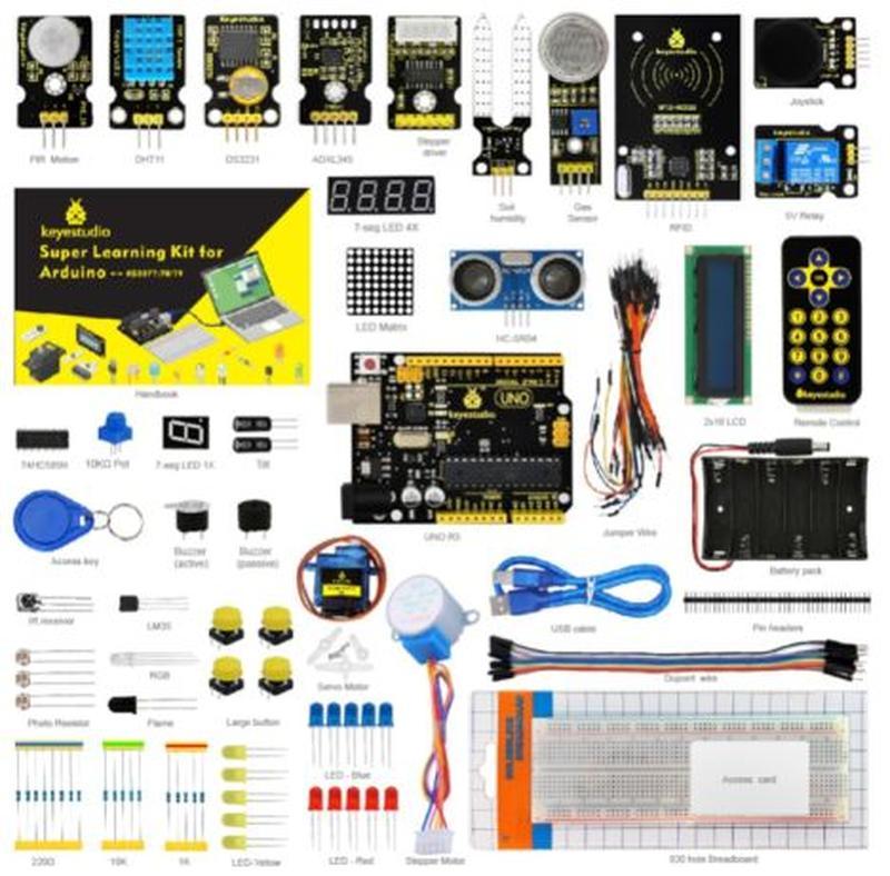 Стартовый набор Ардуино - Arduino Starter Kit от Keyestudio