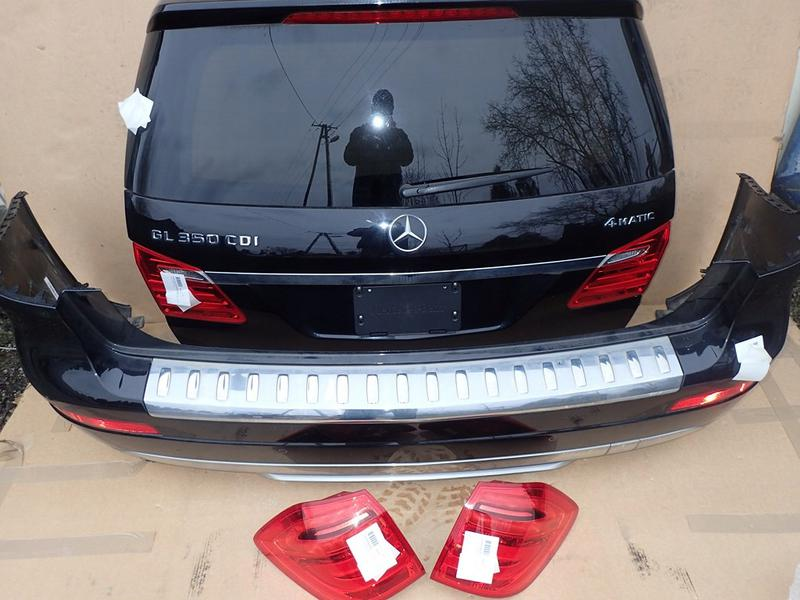 Запчасти с разборки для Mercedes-Benz GL X166 бампер фонари балка