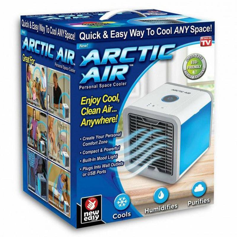 Кондиционер охладитель воздуха Arctic Air вентилятор увлажните... - Фото 8