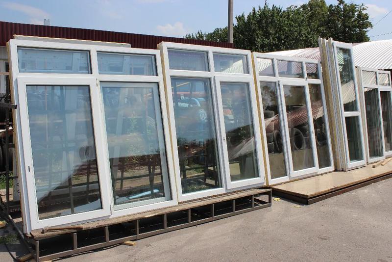 Металлопластиковые окна и двери б\у Немецкая фурнитура ROTO