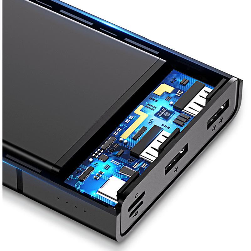 Портативное зарядное устройство Usams US-CD75 Power Bank 20000 mA - Фото 4