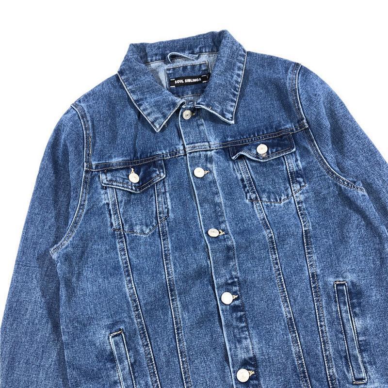 Мужская джинсовая куртка - Фото 5