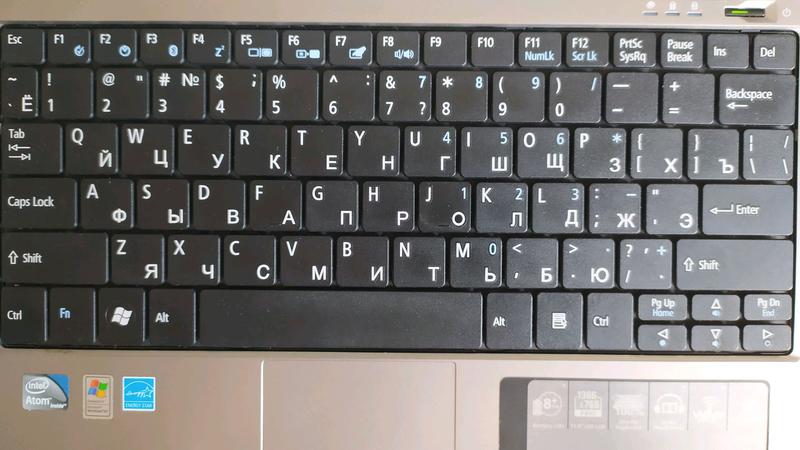 Продам полностью рабочий ноутбук (нетбук) 11