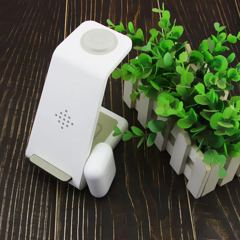 Беспроводное зарядное устройство Home 3 в 1 Белый - Фото 2