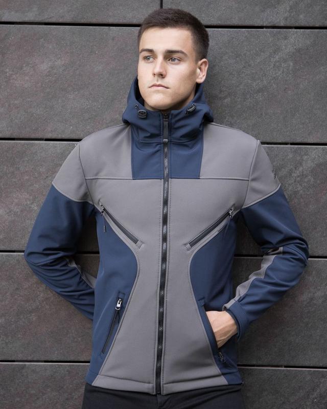 Крутая мужская весенняя куртка - Фото 3