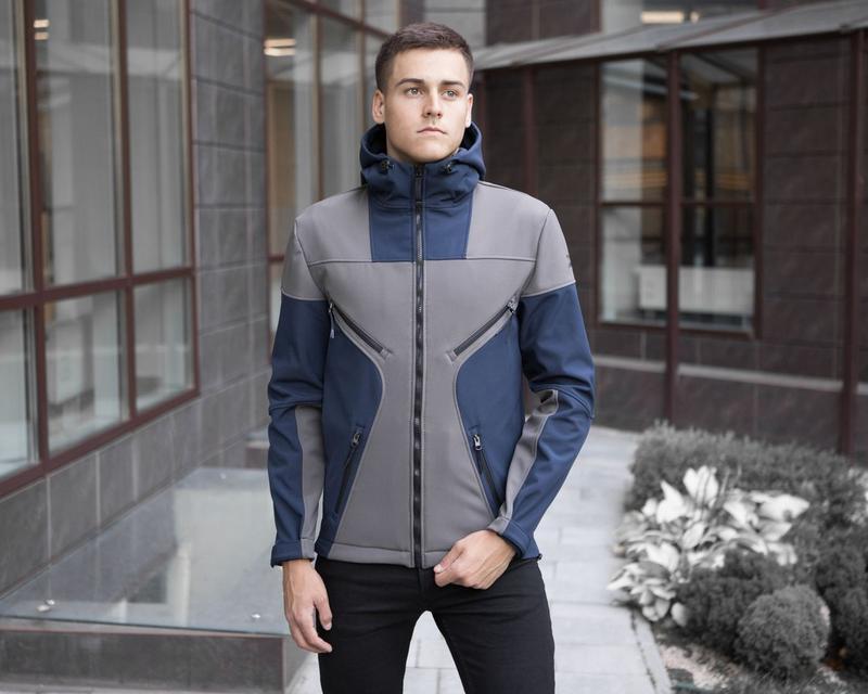 Крутая мужская весенняя куртка - Фото 5