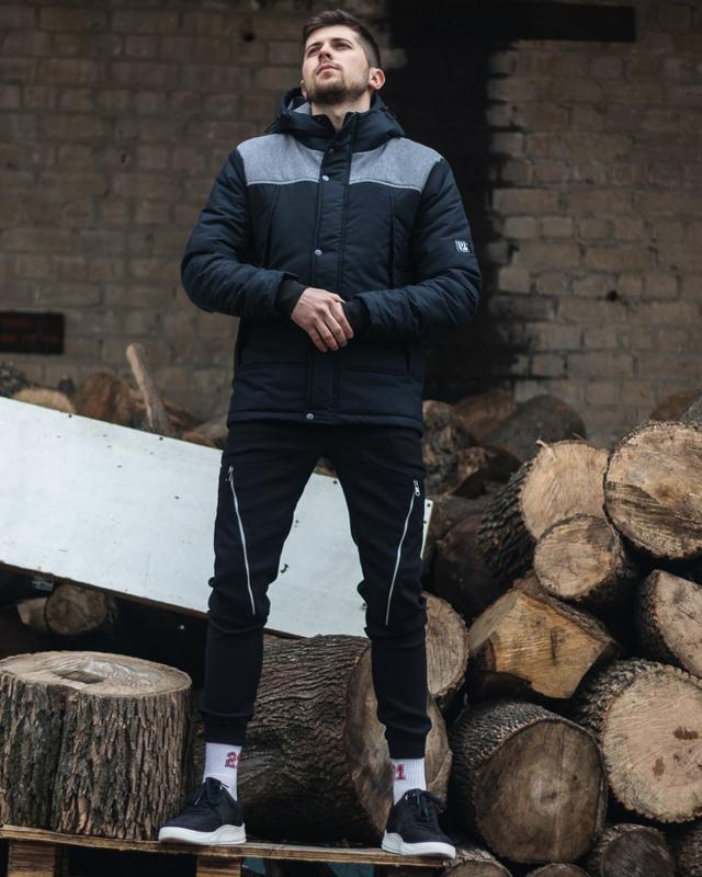 Стильная мужская весенняя куртка - Фото 2