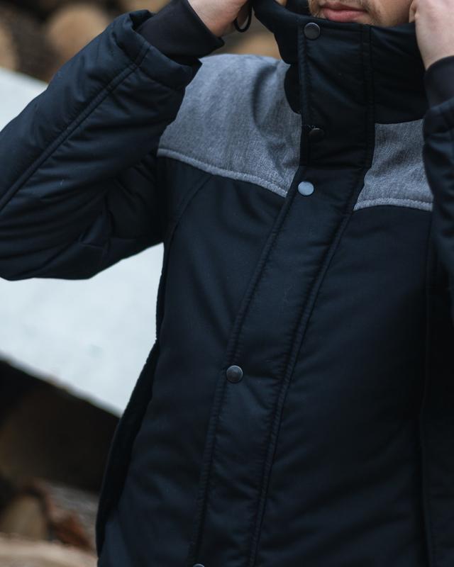 Стильная мужская весенняя куртка - Фото 7