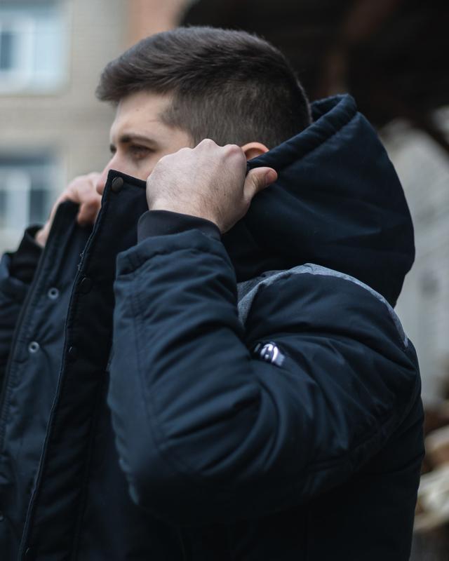 Стильная мужская весенняя куртка - Фото 9