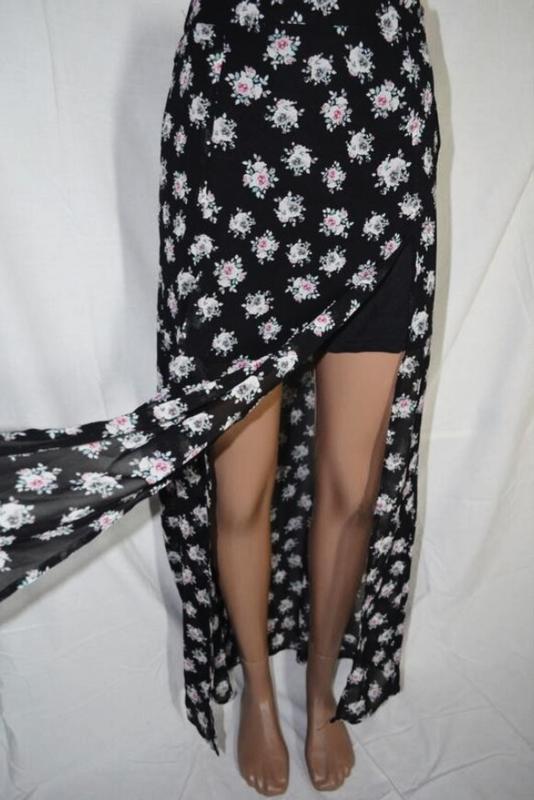 Оригинальная юбка-мини-макси от h&m