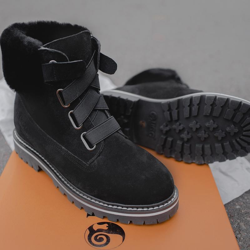 Шикарные женские сапоги ботинки угг - Фото 4