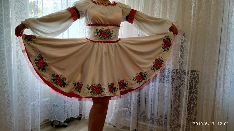 Костюм для украинского танца