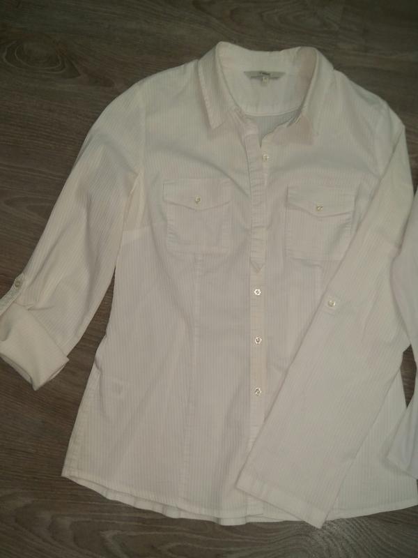 Рубашка, блузка на девочку для школы подростковые/ школьная форма - Фото 2