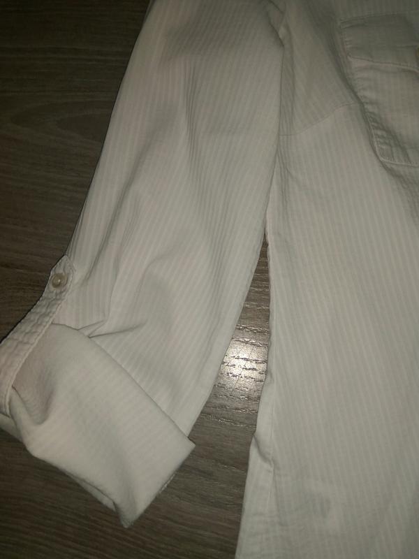 Рубашка, блузка на девочку для школы подростковые/ школьная форма - Фото 3