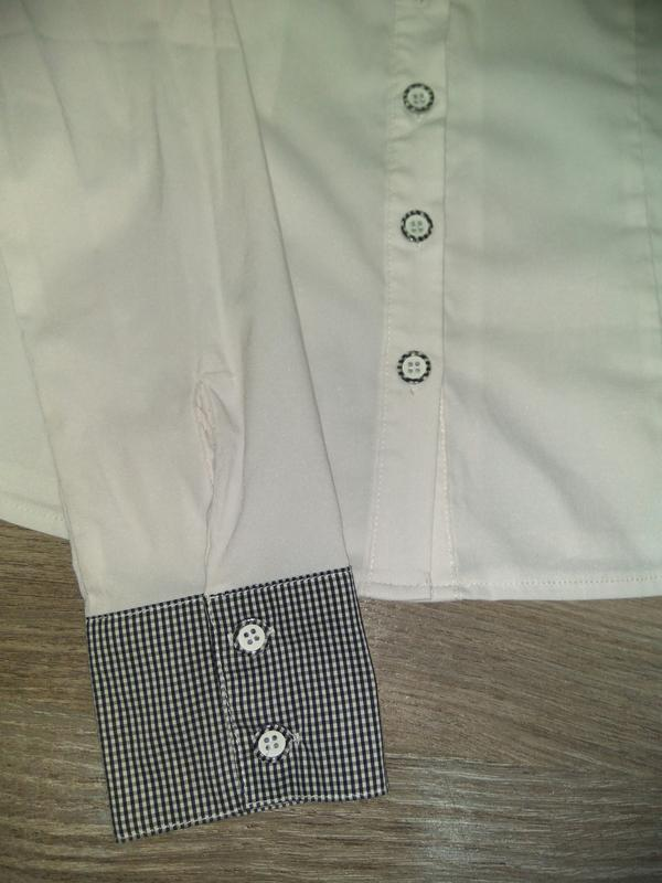 Рубашка, блузка на девочку для школы подростковые/ школьная форма - Фото 5