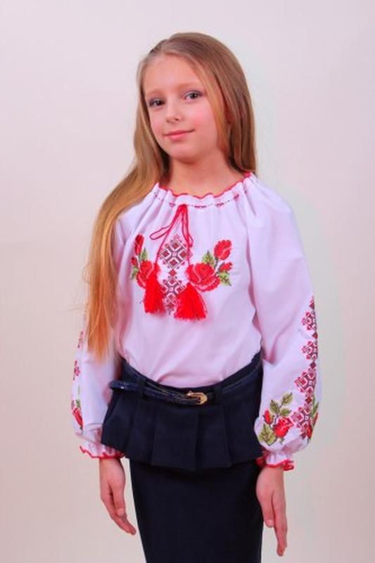 Детская вышитая блуза Зоряна (Украина)