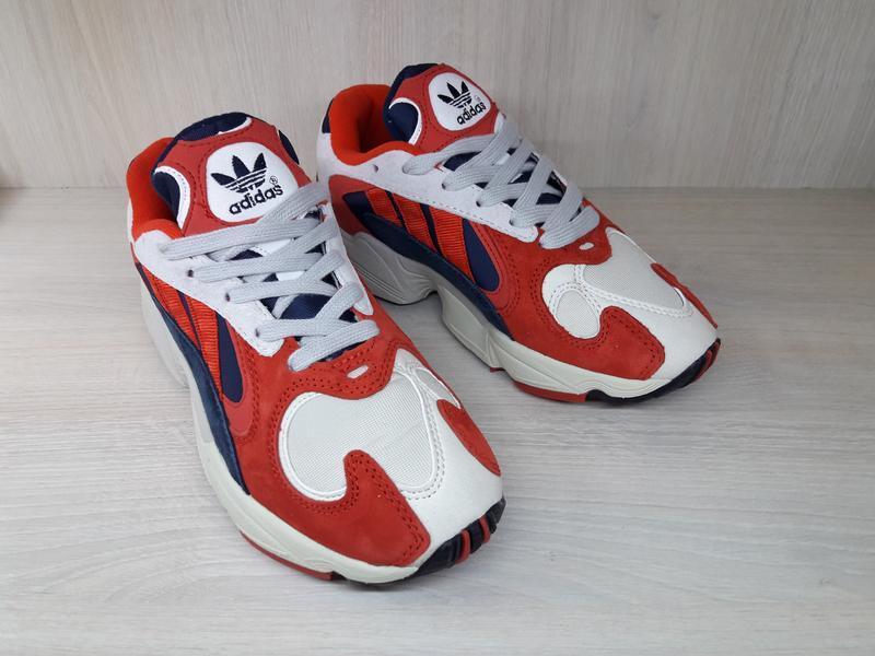 "Adidas yung 1 ""red blue "" 36-45 размеры кроссовки"