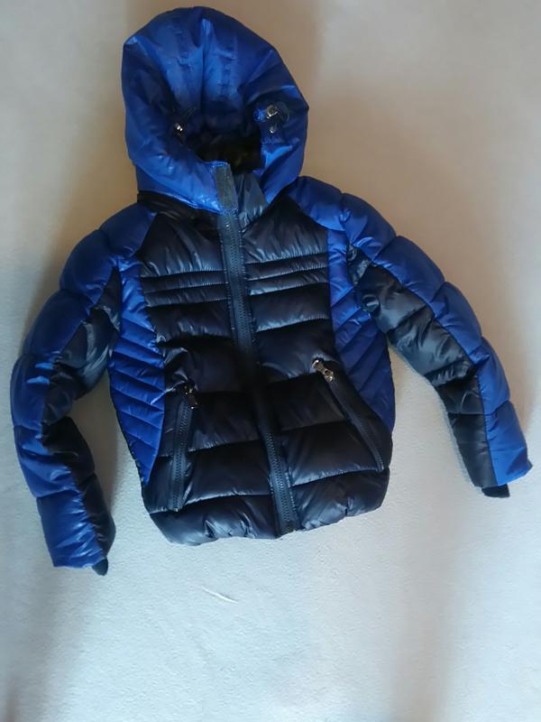 Теплющая зимняя куртка для мальчика 3года