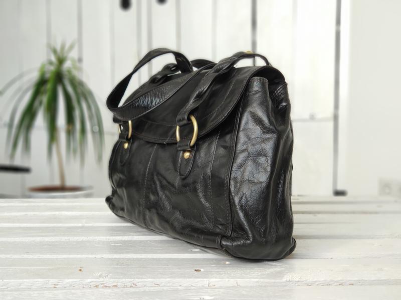 F&f 100% оригинальная кожаная сумка. - Фото 3