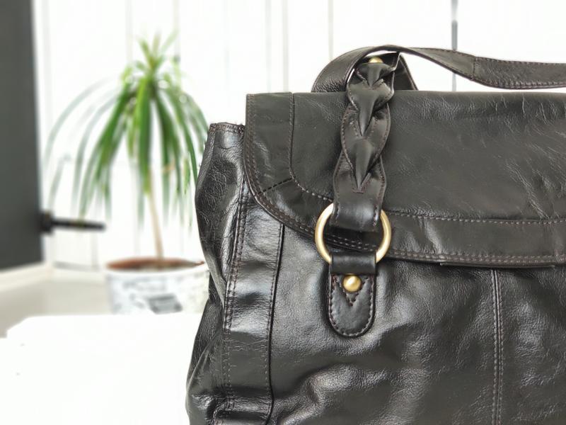 F&f 100% оригинальная кожаная сумка. - Фото 5