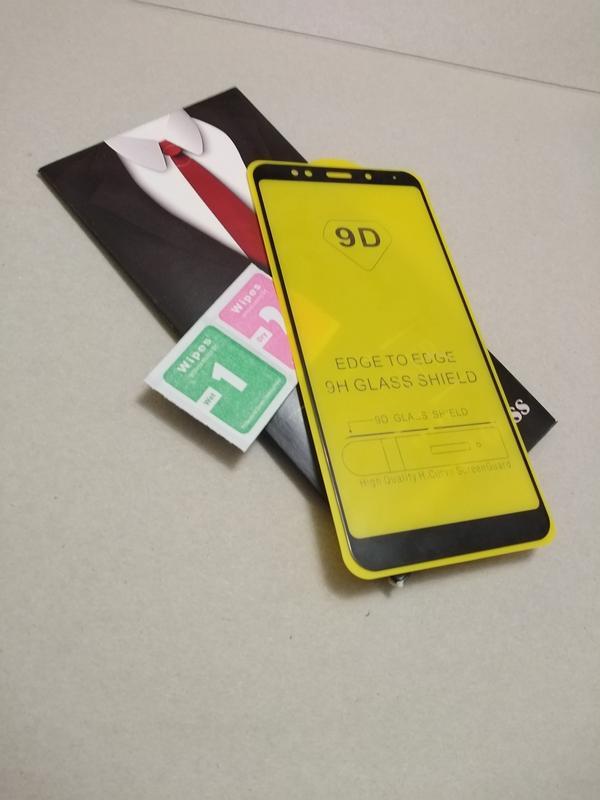 Полноэкранное защитное стекло для телефона  Xiaomi RedMi 5 - Фото 4