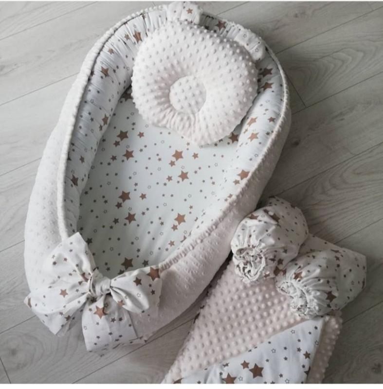 Кокон позиционер для малышей - Фото 3