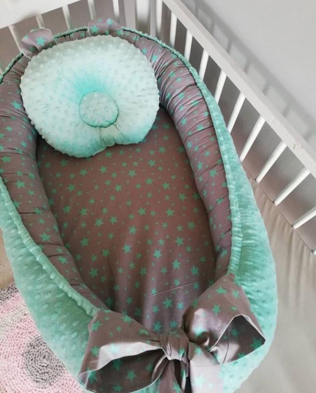 Кокон позиционер для малышей - Фото 2