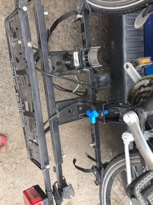 Крепления для перевозки велосипеда на фаркопе - Фото 3
