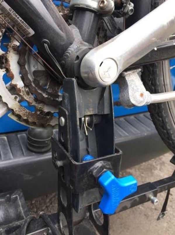 Крепления для перевозки велосипеда на фаркопе - Фото 4