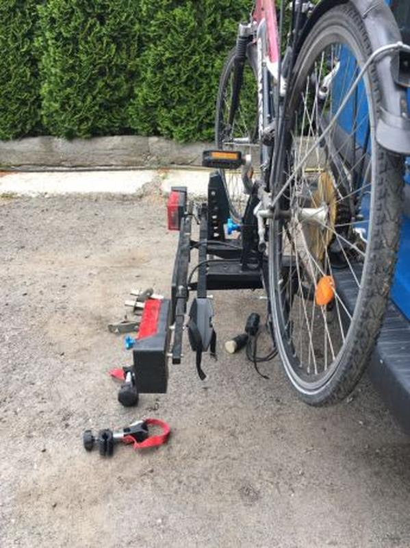 Крепления для перевозки велосипеда на фаркопе - Фото 5