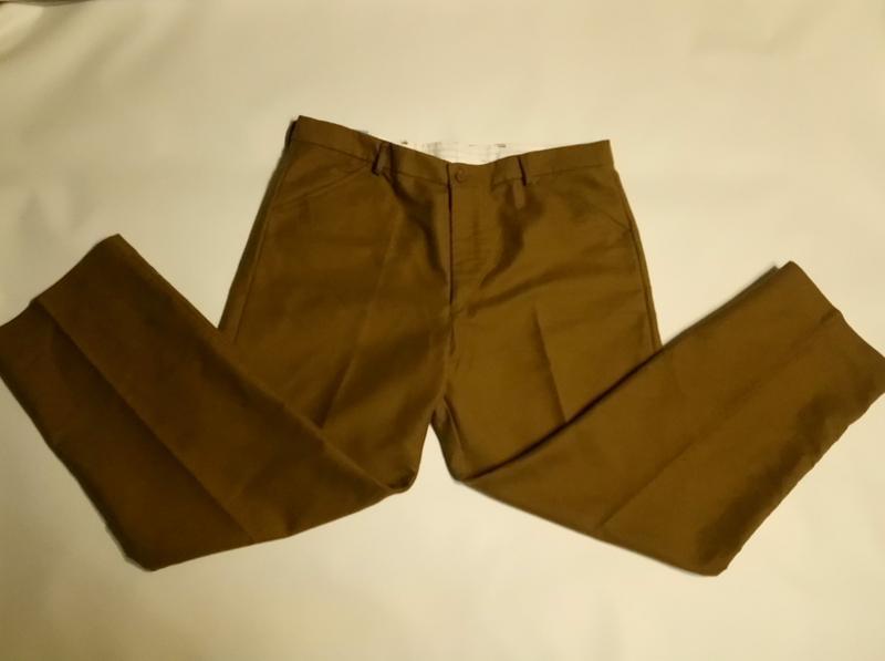 Теплые брюки. 40/29. на высокого. с бирками - Фото 2