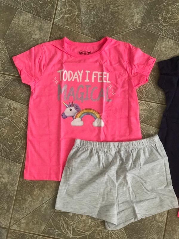 Пижамы, піжами Primark 2 шт./уп на девочку 4-5 лет, рост 110 см - Фото 4