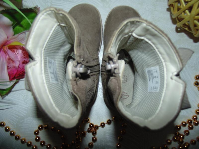 Шикарные сапожки clarks 22.5(6f)р,ст.14,5 см.мега выбор обуви ... - Фото 4