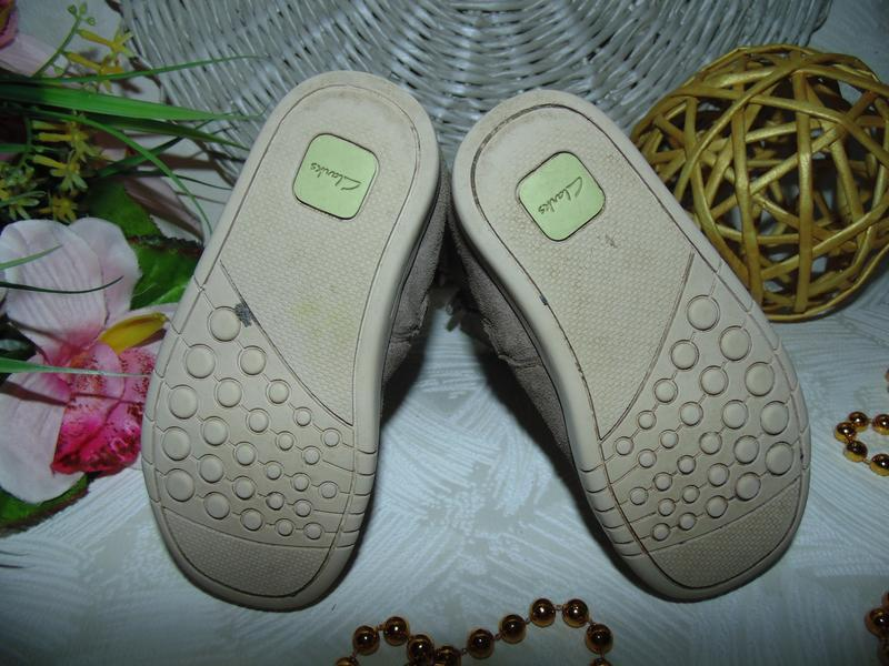 Шикарные сапожки clarks 22.5(6f)р,ст.14,5 см.мега выбор обуви ... - Фото 5