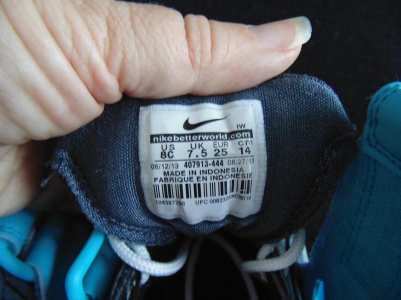 Эксклюзив! кроссовки nike 25р,ст 15,5см.мега выбор обуви и оде... - Фото 4
