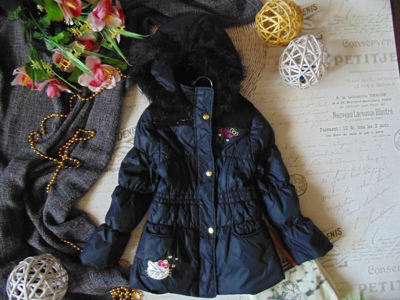 7лет.гламурная куртка hello kitty.mега выбор обуви и одежды
