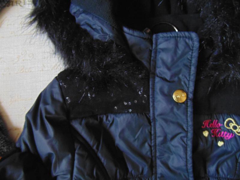 7лет.гламурная куртка hello kitty.mега выбор обуви и одежды - Фото 3