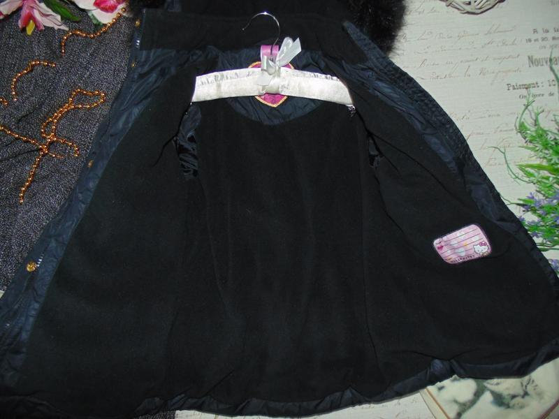 7лет.гламурная куртка hello kitty.mега выбор обуви и одежды - Фото 5