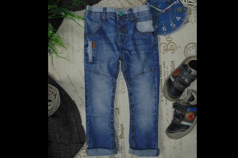 3-4года.бомбезные джинсы next .mега выбор обуви и одежды - Фото 2